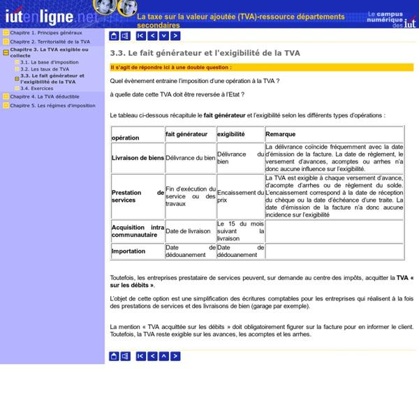 La taxe sur la valeur ajoutée (TVA)-ressource départements secondaires