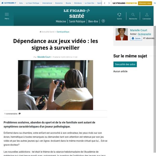 Dépendance aux jeux vidéo: les signes à surveiller