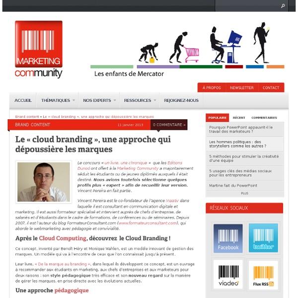 Le cloud branding, une approche qui dépoussière les marques