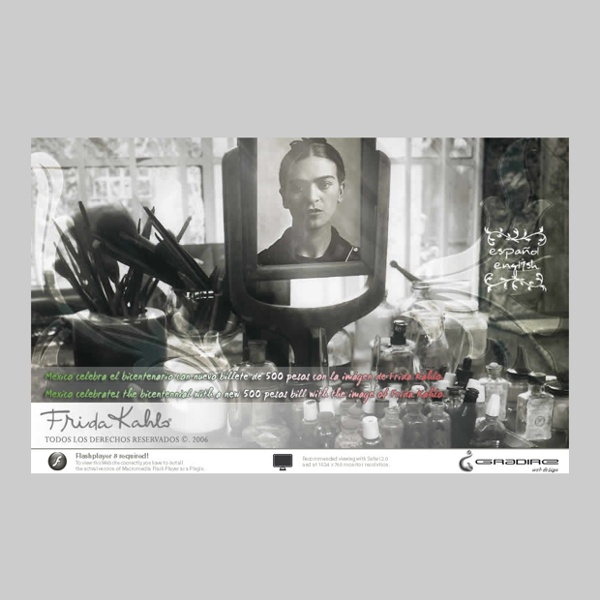 Frida Kahlo, sitio oficial, de los derechos, licencias, productos y familia Kahlo 2