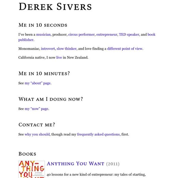 Derek Sivers