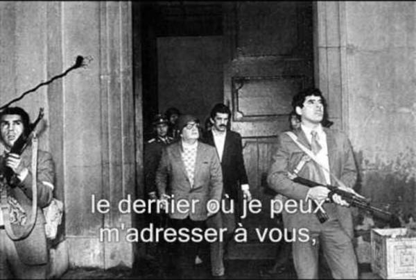 Dernier discours de Salvador Allende