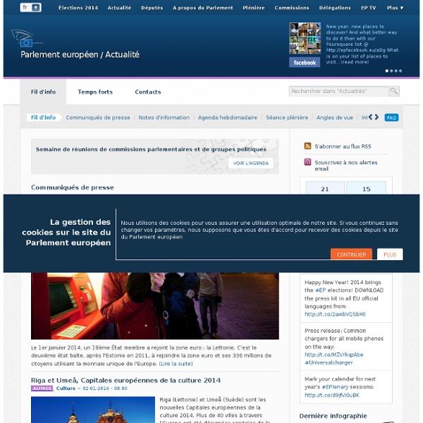 Europeana, une librairie numérique qui s'invite au Parlement eur