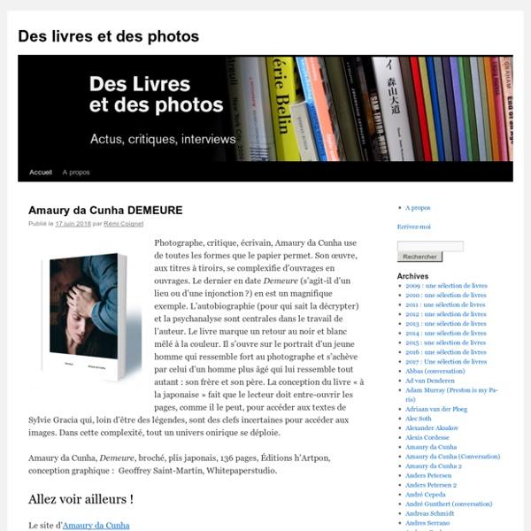 Des livres et des photos