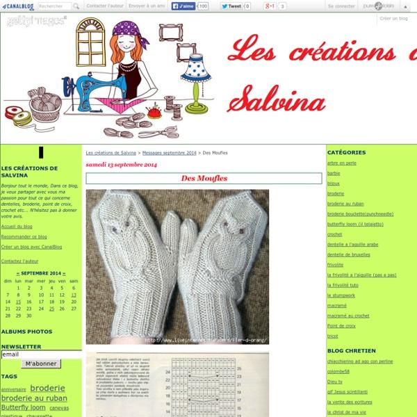 Des Moufles - Les créations de Salvina
