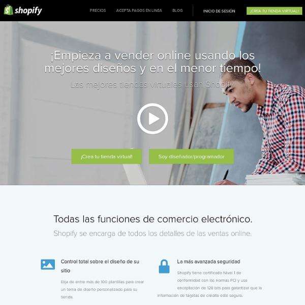 Desarrollo de Tienda Virtual - Tu Tienda En Linea - Shopify Comercio Electronico.