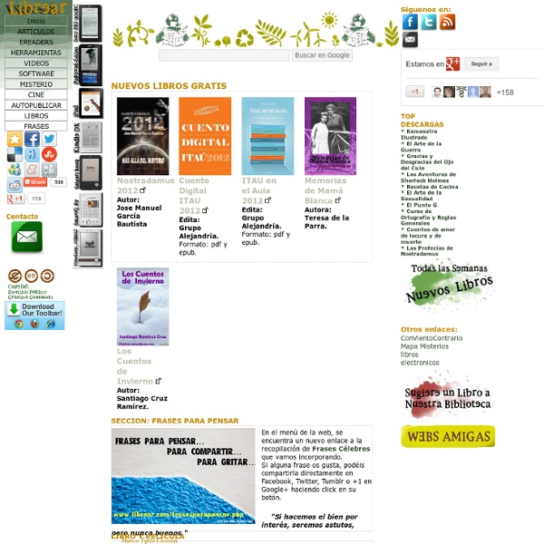 Descargar Libros Gratis pdf y Ver Películas online sobre ebooks