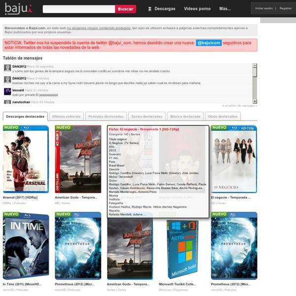 Descargas directas / Bajui.com