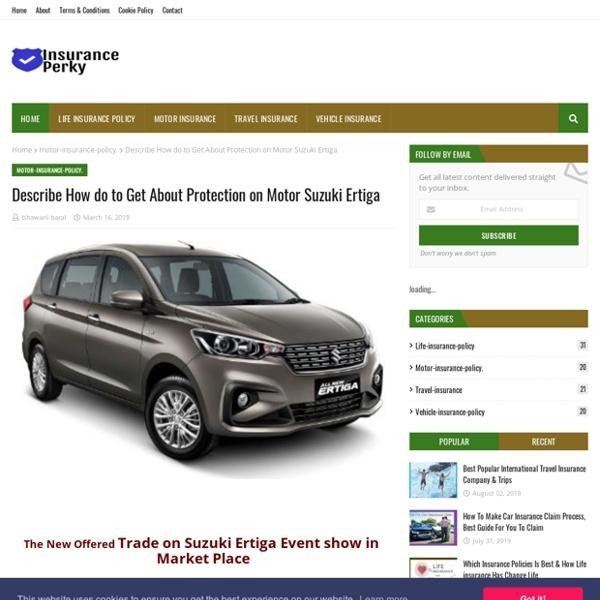 Describe How do to Get About Protection on Motor Suzuki Ertiga