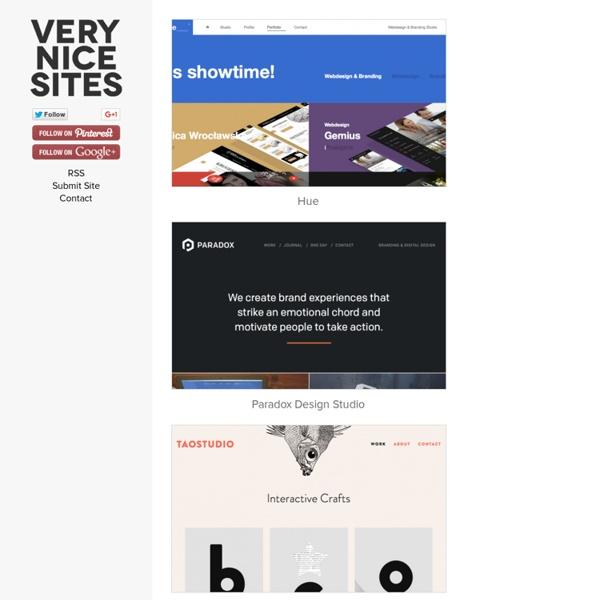 Beautiful websites 2013