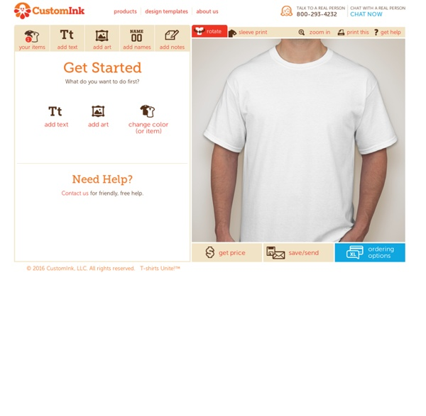 Design Lab - Create Your Own T-shirts Online