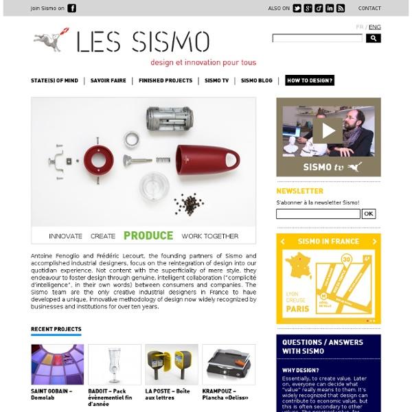 CRÉA Sismo, le design comme solution -En
