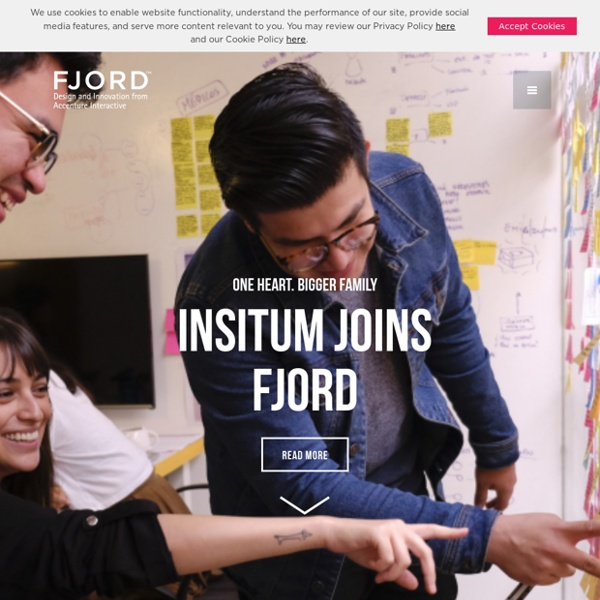 Fjord. The Design & Innovation consultancy.
