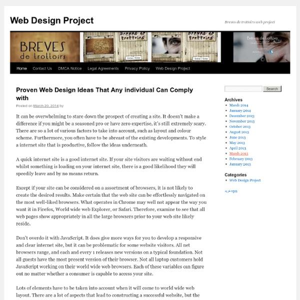 Breves de trottoirs- plateforme webdocumentaire