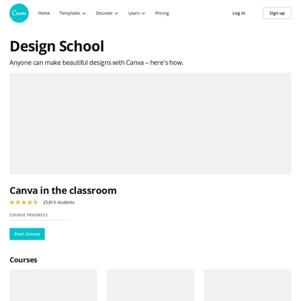 Canva Design School — Tutorials
