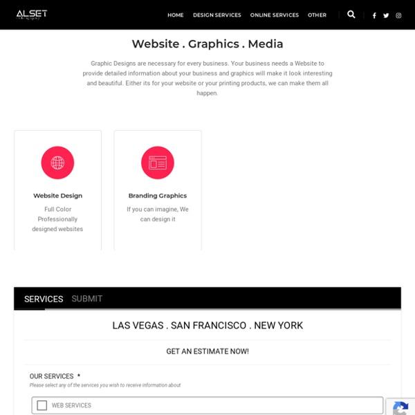 Design Services - Alset Marketing