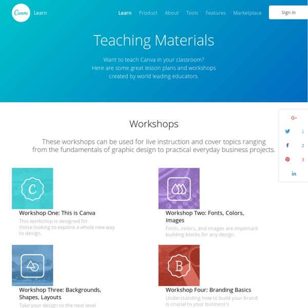 Design School — Teaching Materials