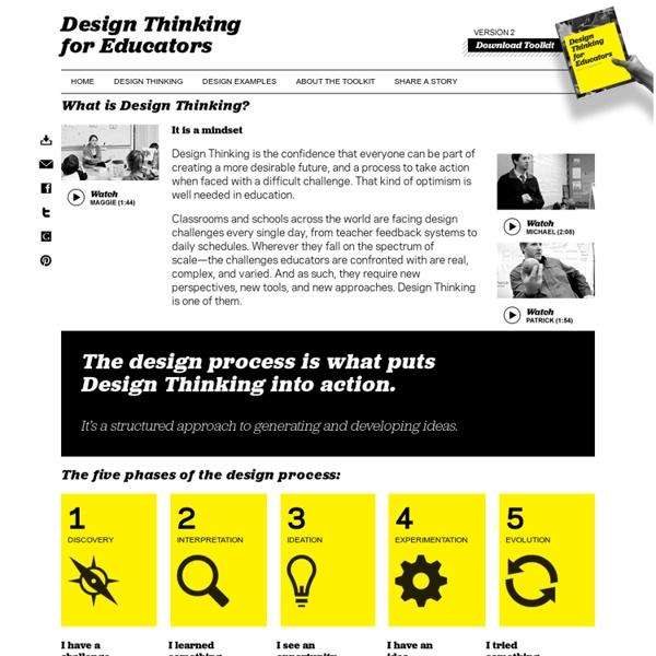 Design Thinking « Design Thinking for Educators
