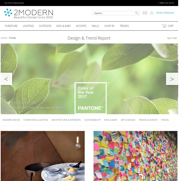 Modern Furniture and Design Blog
