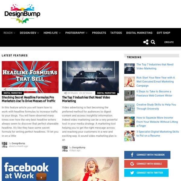 Design Bump - Latest Design News Delivered Daily
