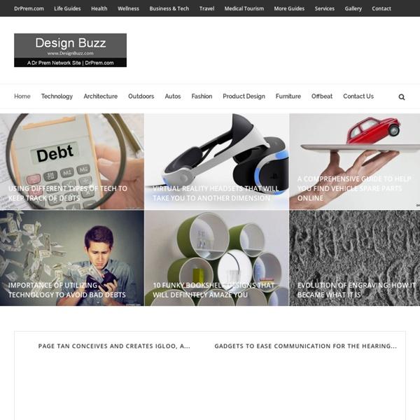 Designbuzz: Design trendsetter