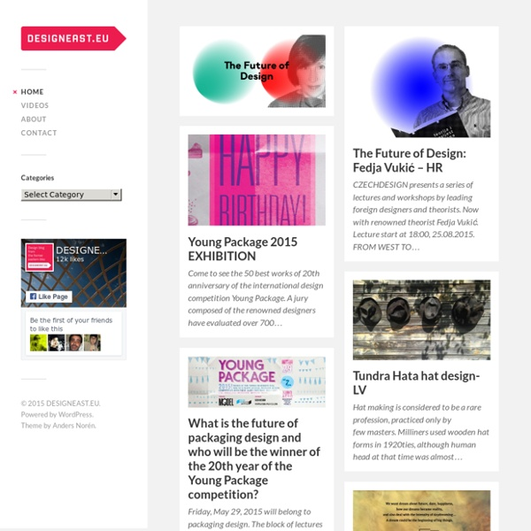 Acclaimed design blog from the former Eastern bloc.