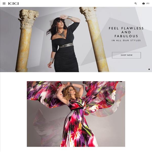 Designer Plus Size Clothing, Fashion & Dresses