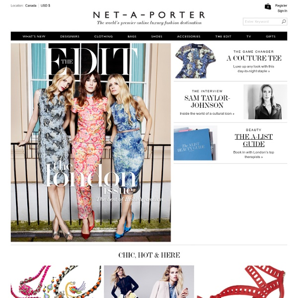 Women's designer clothes, shoes, bags & accessories