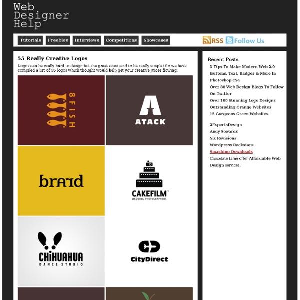 Web Designer Help » 55 Really Creative Logos