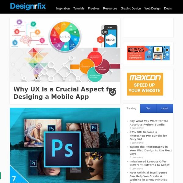 Graphic Design Inspiration - Tutorials & Web Design Resources