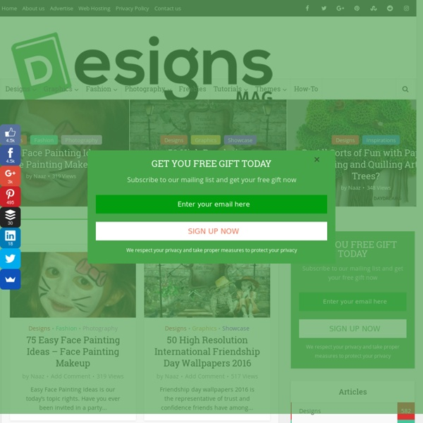 Designsmag - Web Design, Photography & Fashion