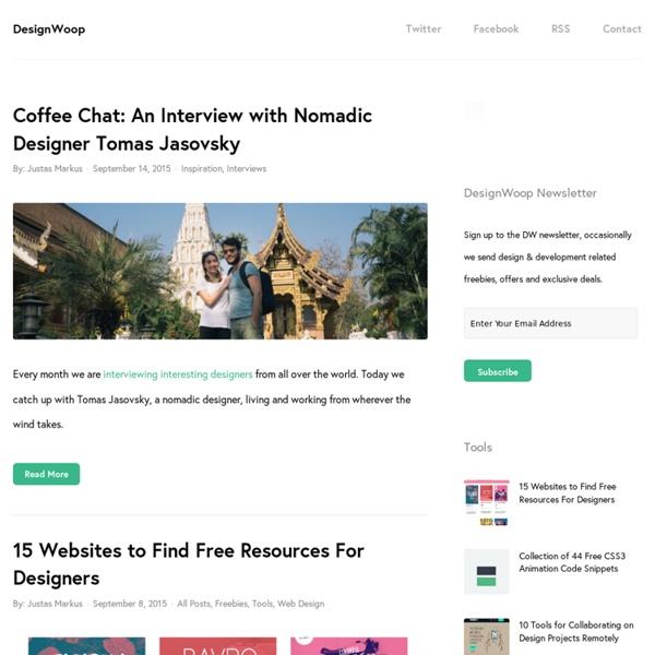DesignWoop - Web Design Blog