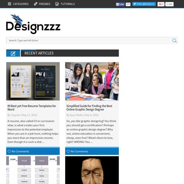 Designzzz - Graphics and Web Design Blog