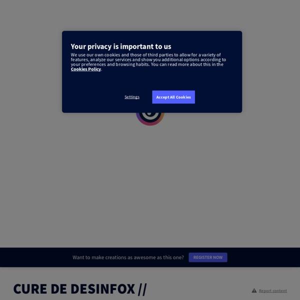 CURE DE DESINFOX // CONCOURS EN LIGNE par CDICORBU sur Genially