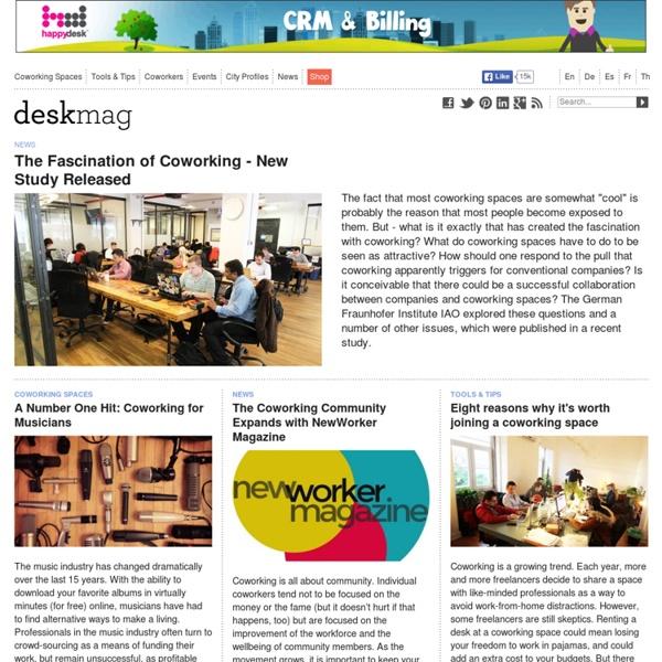 The Coworking Magazine