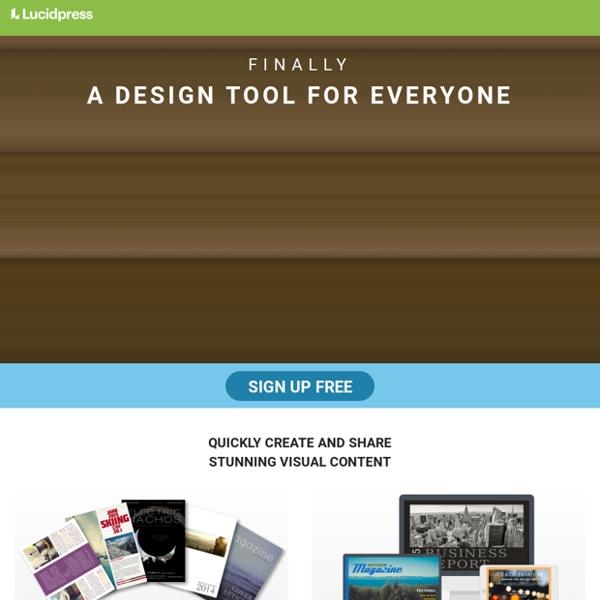 Online Desktop Publishing & Design Software