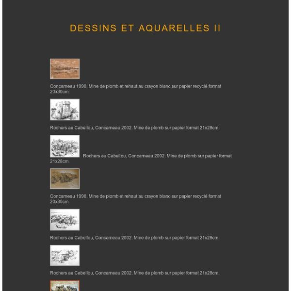 Dessin et aquarelle2