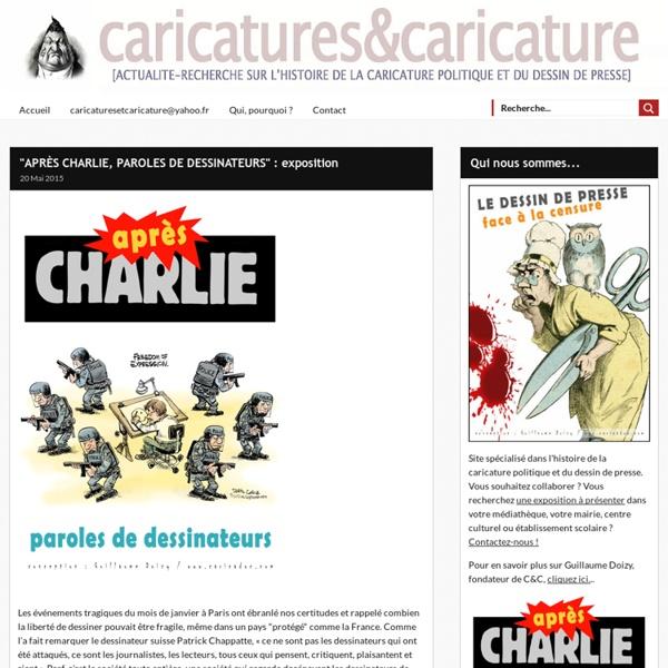 """""""APRÈS CHARLIE, PAROLES DE DESSINATEURS"""" : exposition -"""