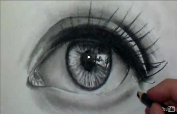Comment dessiner des yeux réalistes [Tutoriel] 2