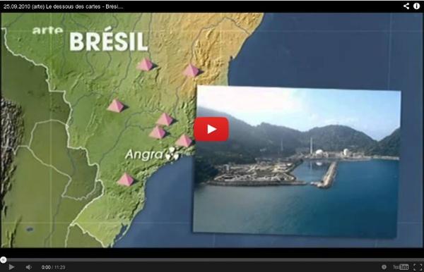 25.09.2010 (arte) Le dessous des cartes - Brésil (2 sur 2), une puissance énergétique