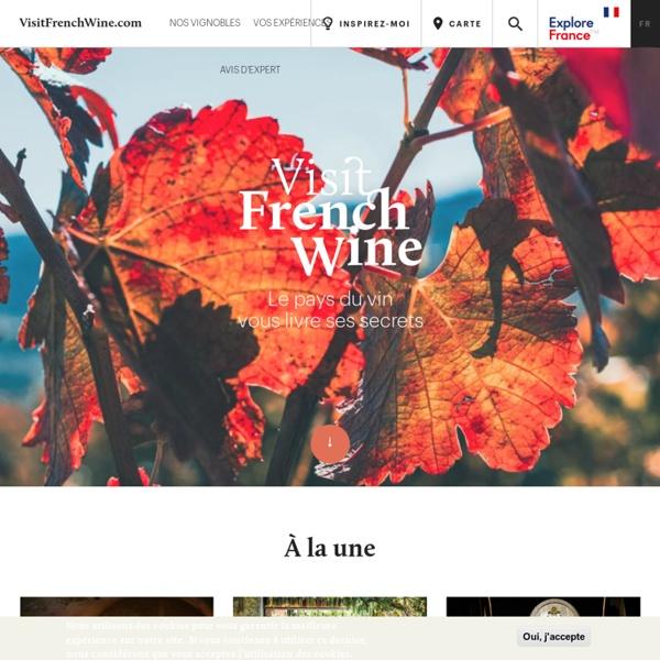 Le portail officiel de l'œnotourisme en France