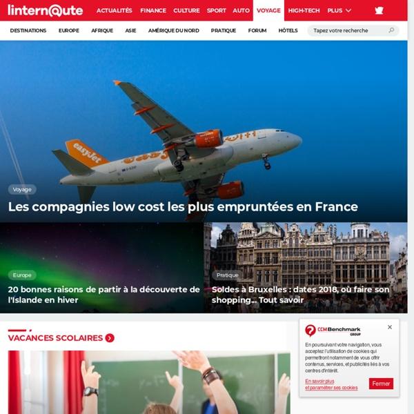 L'Internaute Voyage - Voyages, destinations de vacances, et guides pratiques