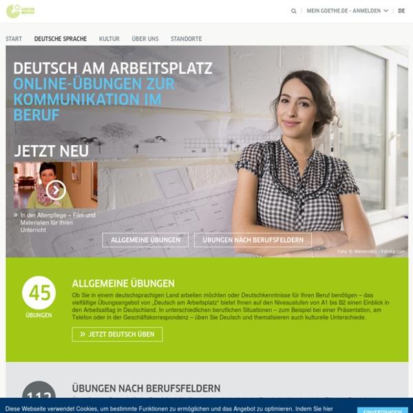 Deutsch am Arbeitsplatz