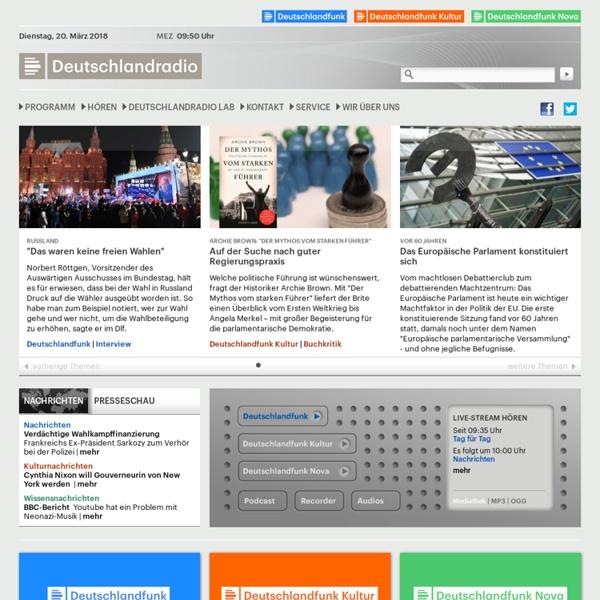 Deutschlandradio - Startseite