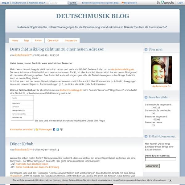Deutschmusik Blog