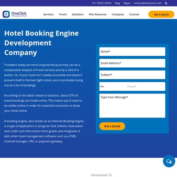 Hotel Booking Engine Development