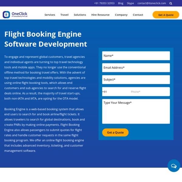 Flight Booking Engine Solution