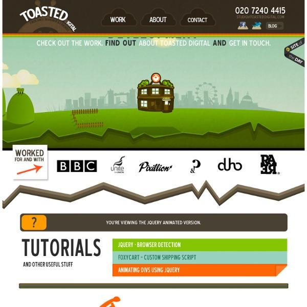 Toasted Digital - Web Design, London - Sam Clarke