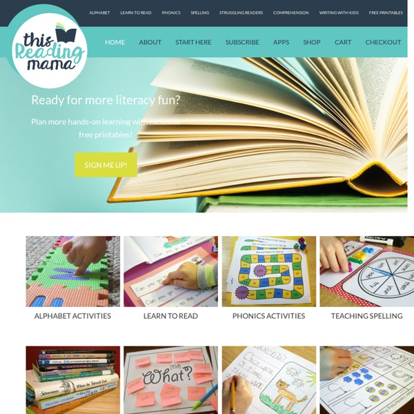This Reading Mama - a developmental approach to literacy