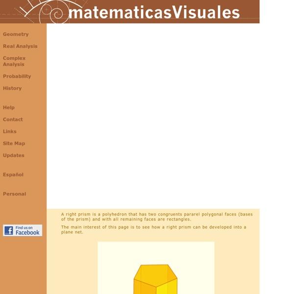 Plane developments of geometric bodies (1): Nets of prisms